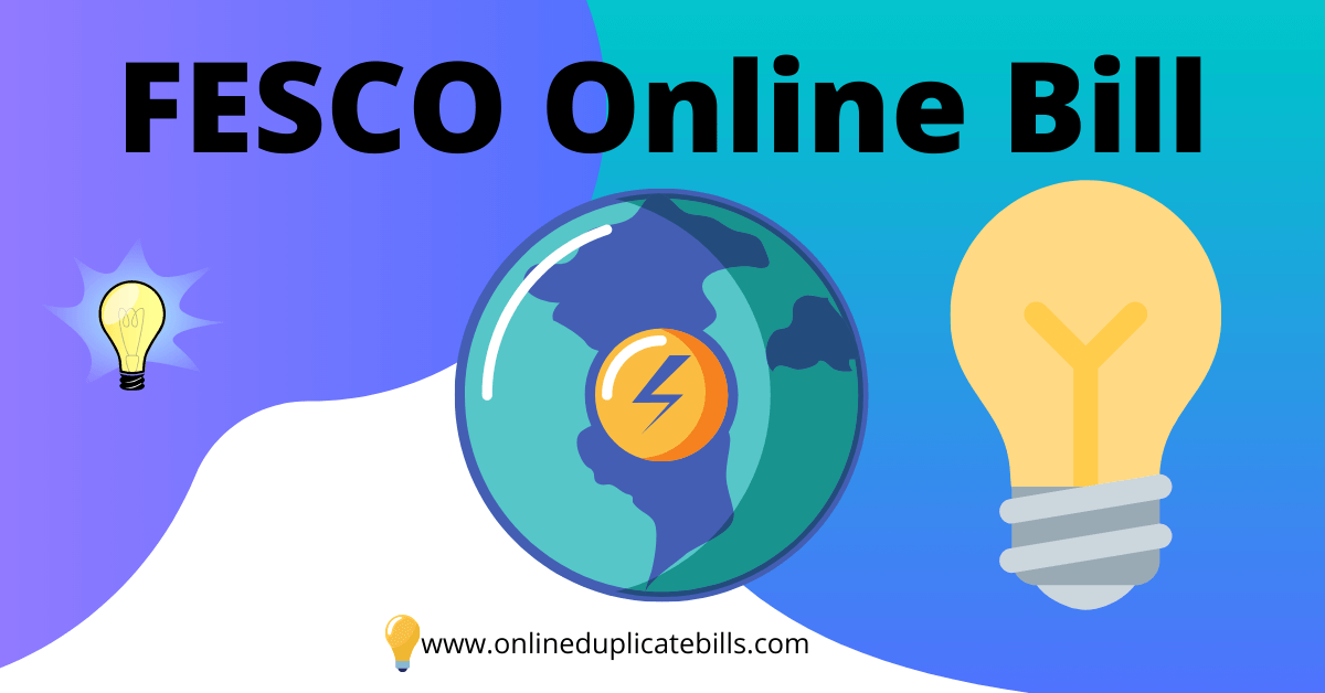 FESCO Online Bill
