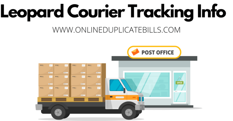 Leopard Courier Tracking Info