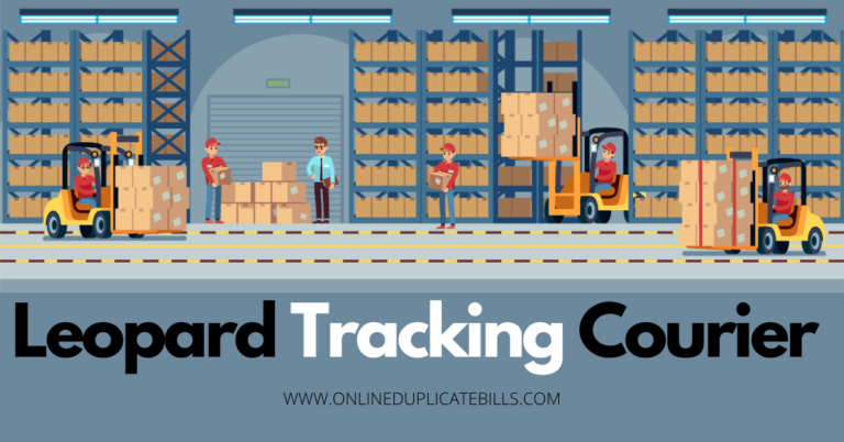 Leopard Tracking Courier